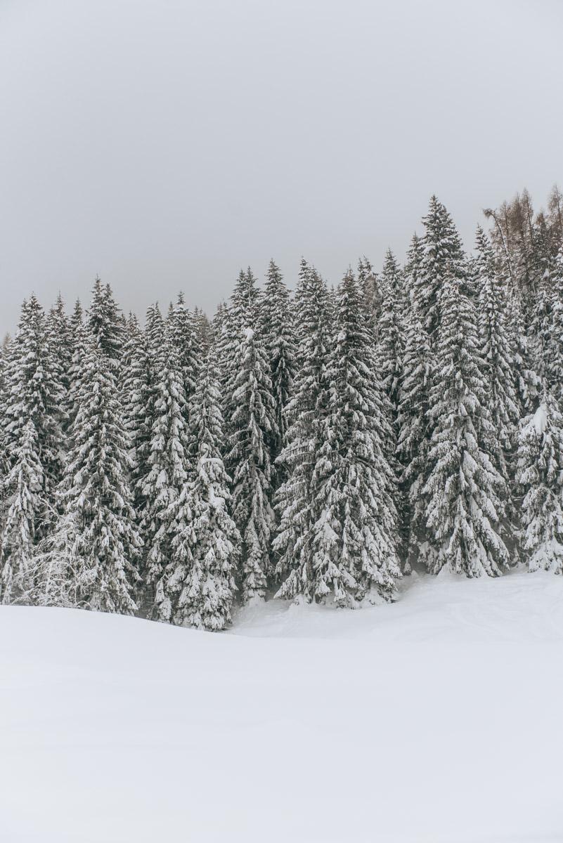 3 Meter Schneehöhe