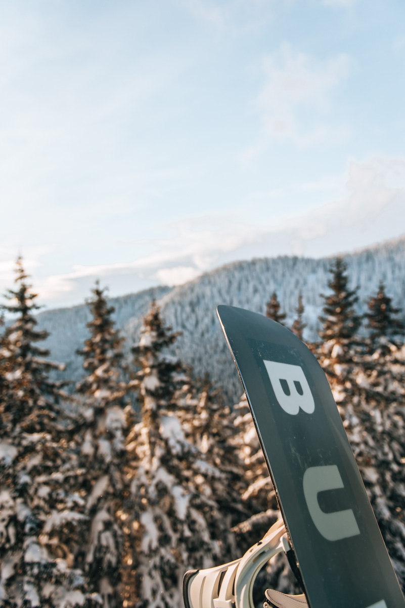 Ausblick Skilift