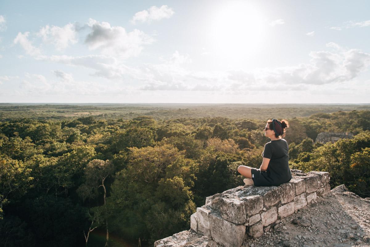 Bacan Maya Ruins