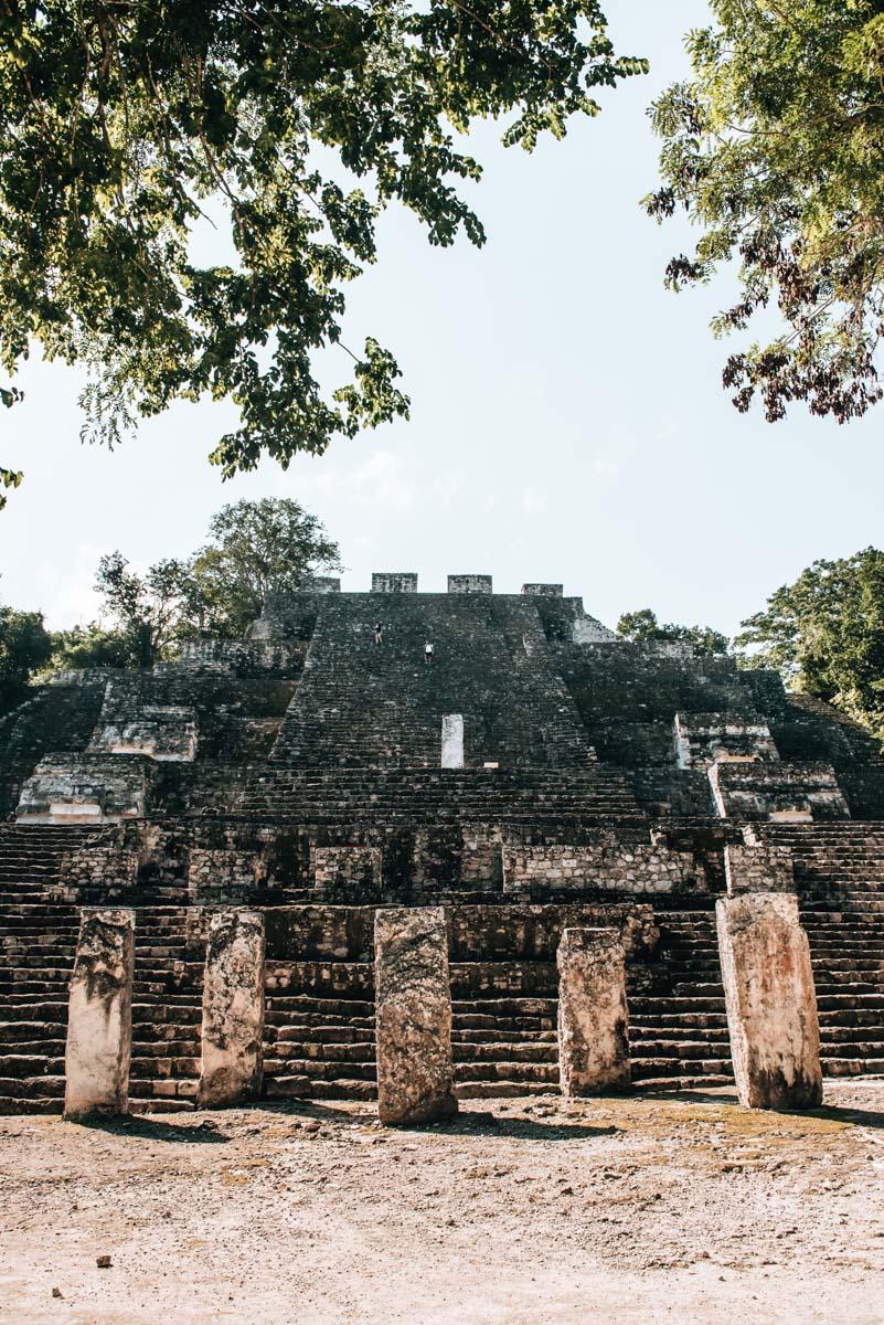 Calakmul Yucatan Maya