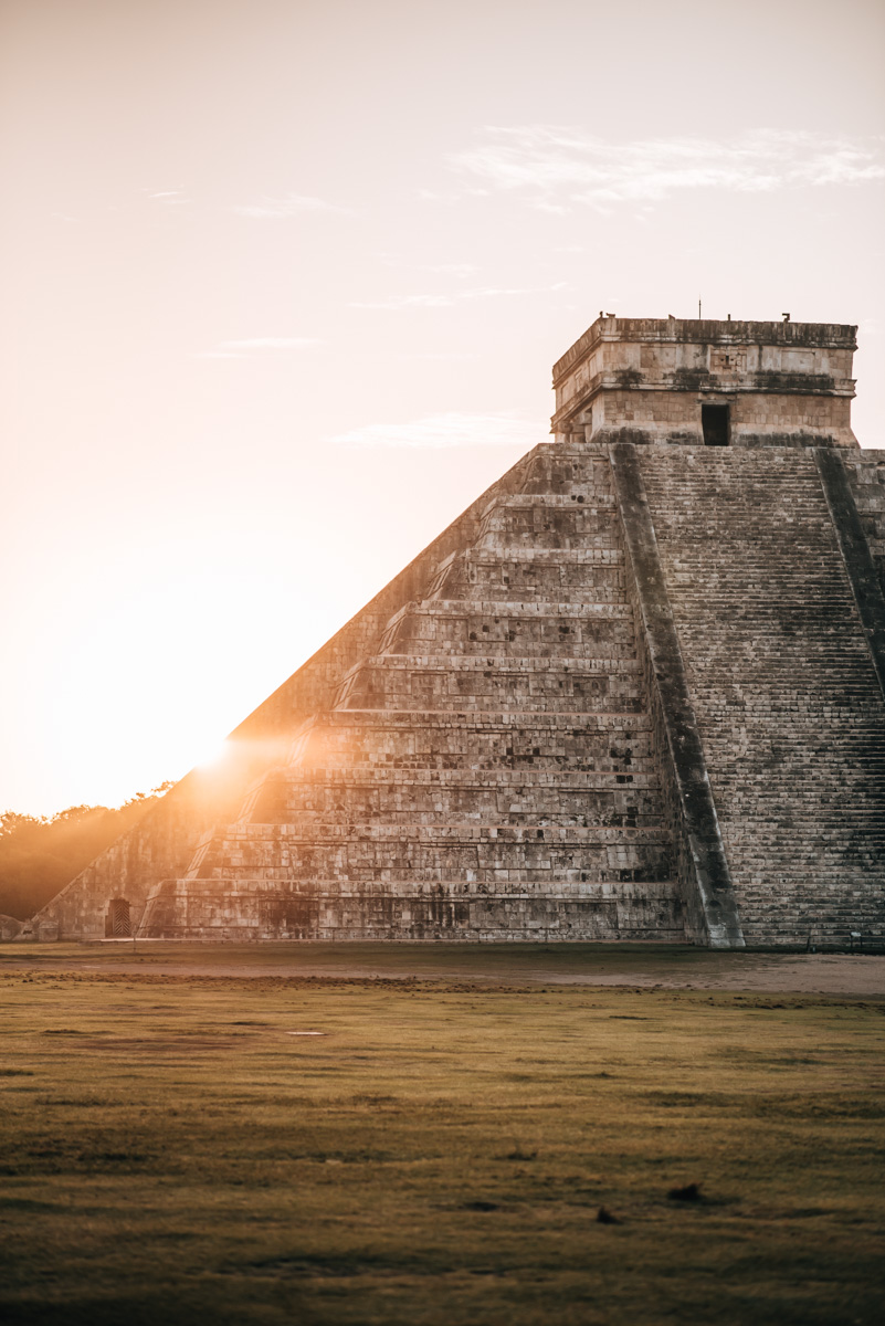 Chichen Itza without tourists