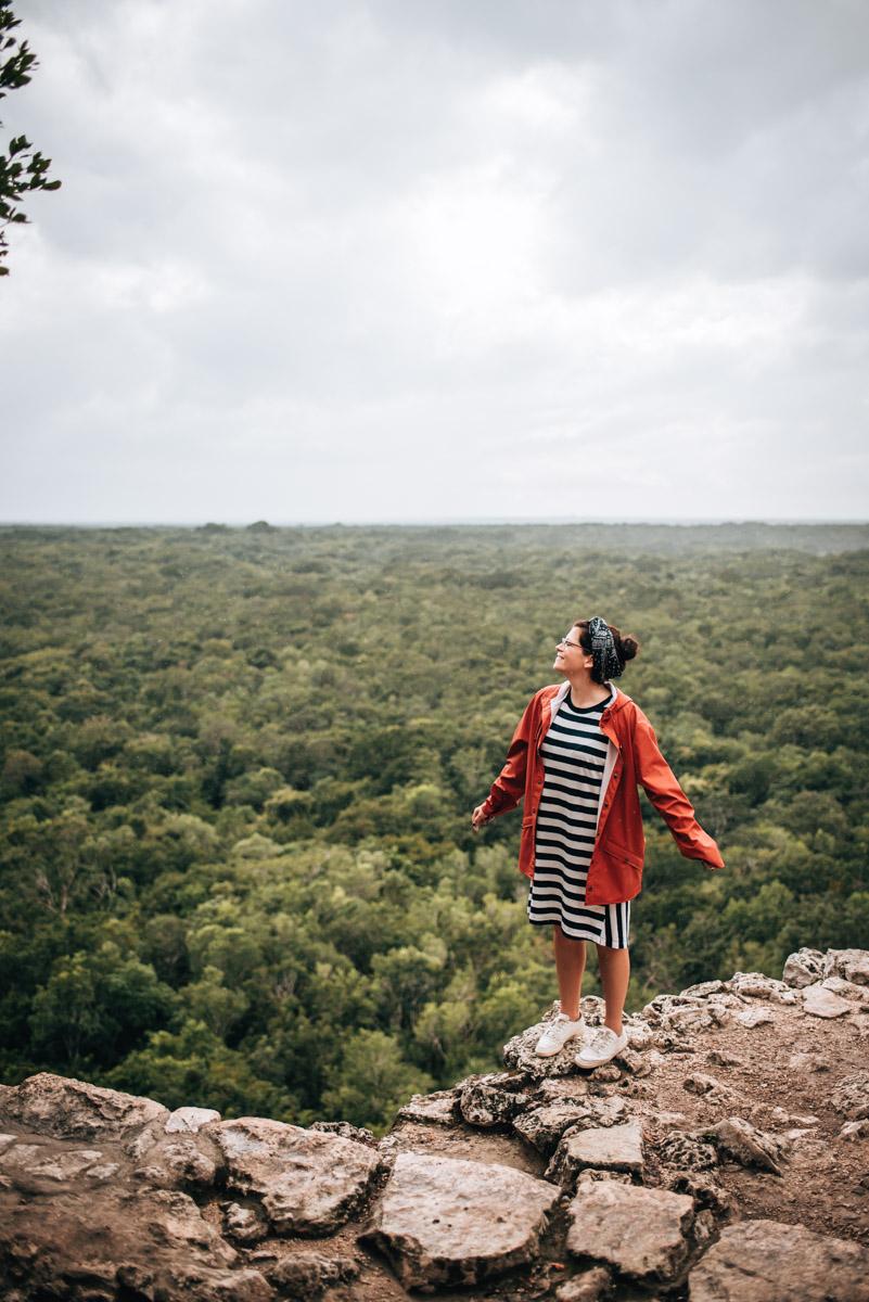 Coba Ruins View