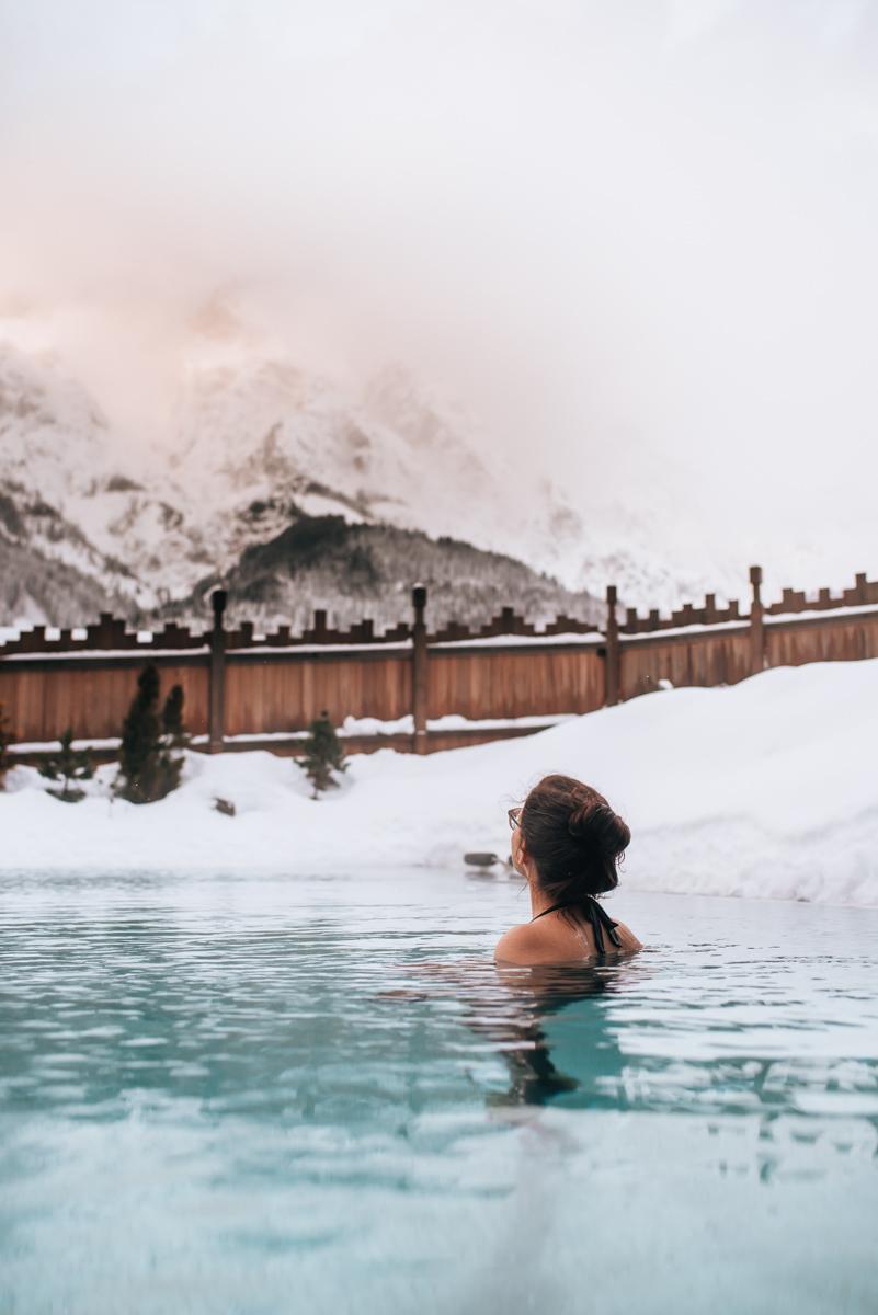 Hotel Riederalm Pool