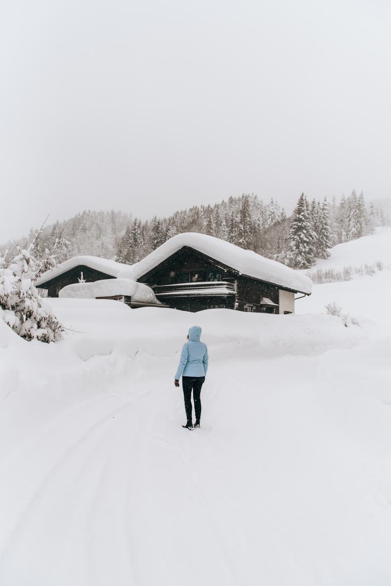 Leogang Schneeschuhwanderung