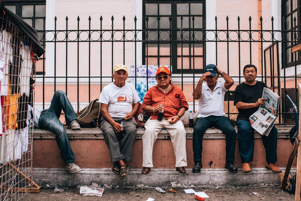Mexiko Markttreiben