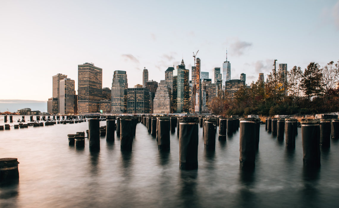New York Skyline Langzeitbelichtung