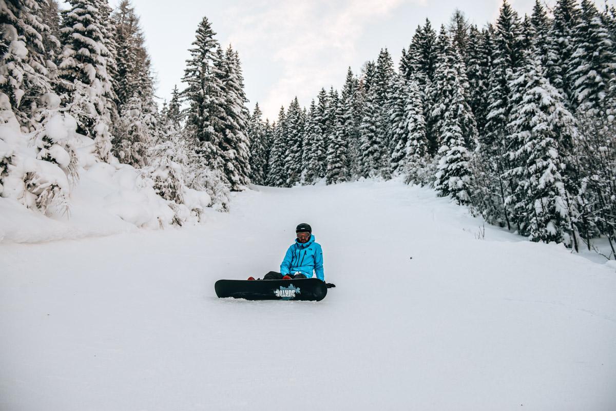 Snowboarden Österreich