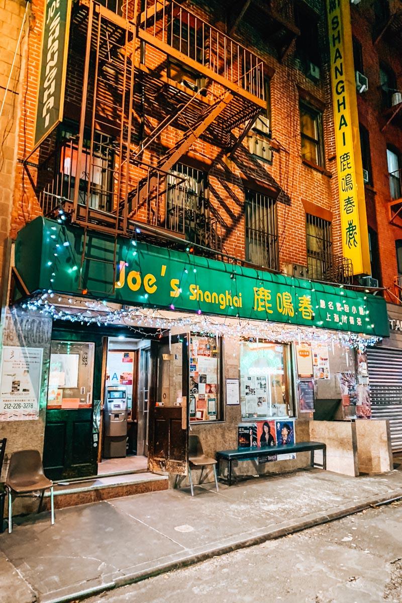 Chinatown New York Restaurants