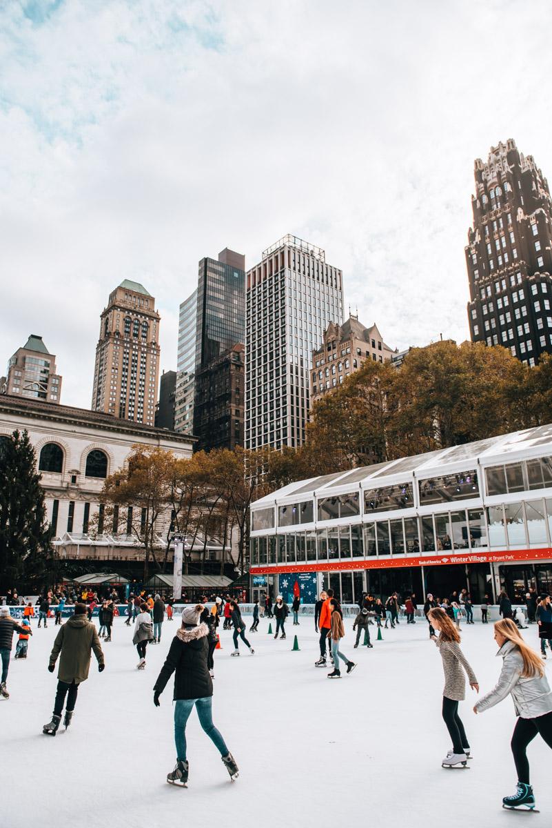 New York Eislaufen Tipps