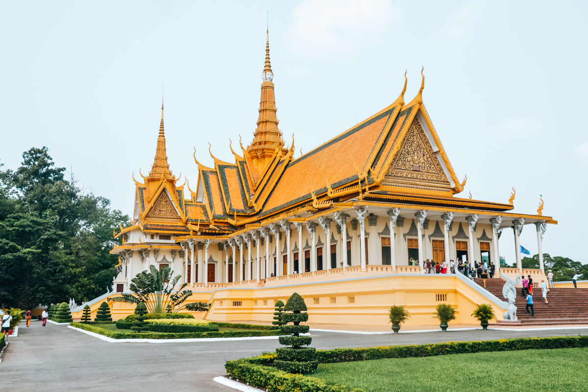Route Kambodscha 3 Wochen
