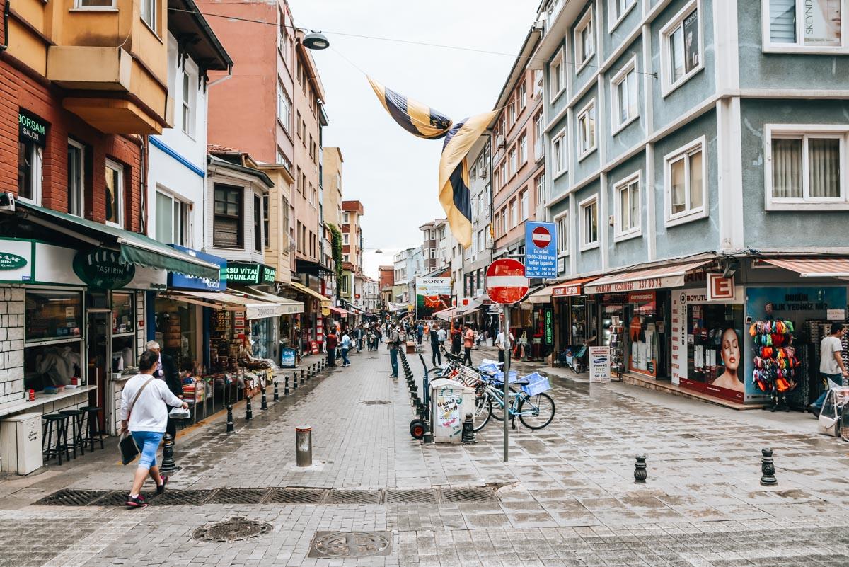 Asiatische Seite Istanbul