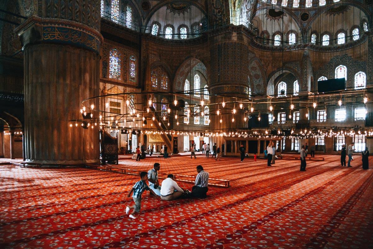 Blaue Moschee Besichtigen