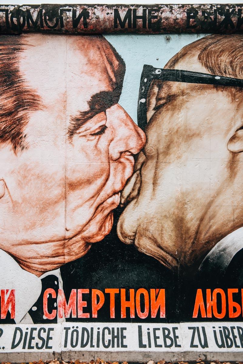 Der Kuss Berliner Mauer