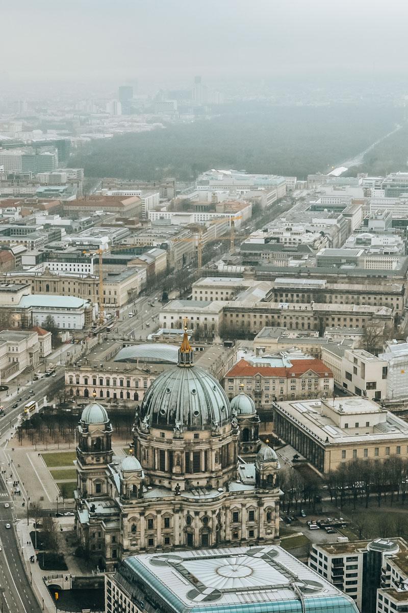 Fernsehturm Berlin Ausblick