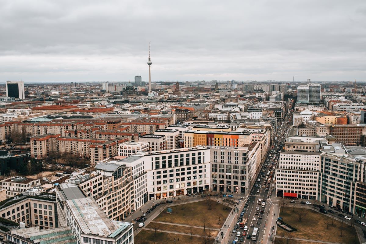 Panoramapunkt Berlin Aussicht