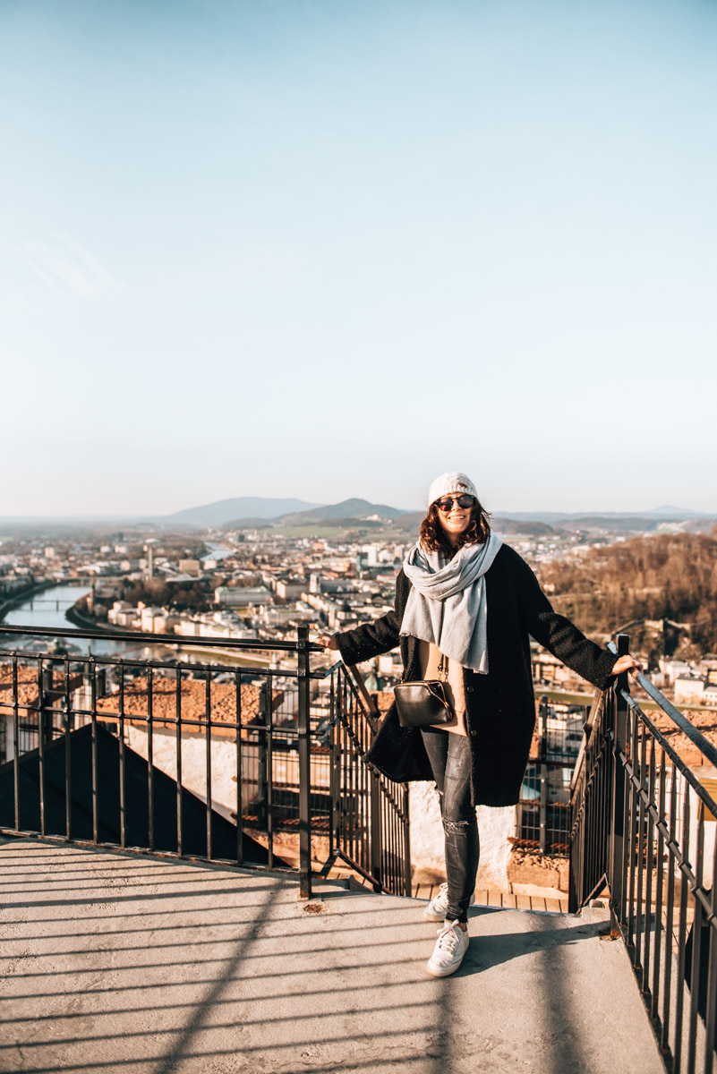 Salzburg Fortress View