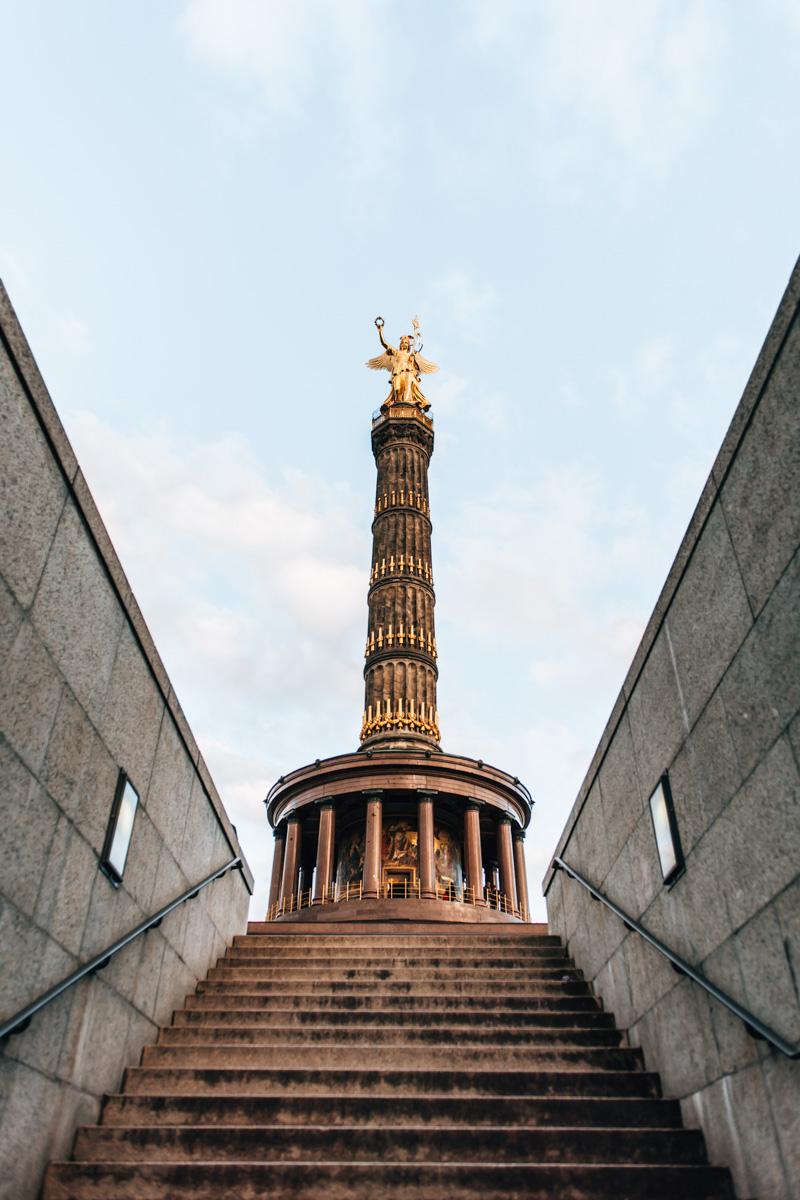 Siegessäule Berlin Aussicht