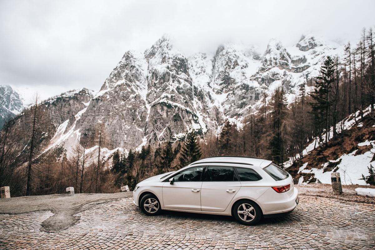 Reiseroute Slowenien