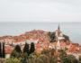 Stadtmauer Piran Aussicht
