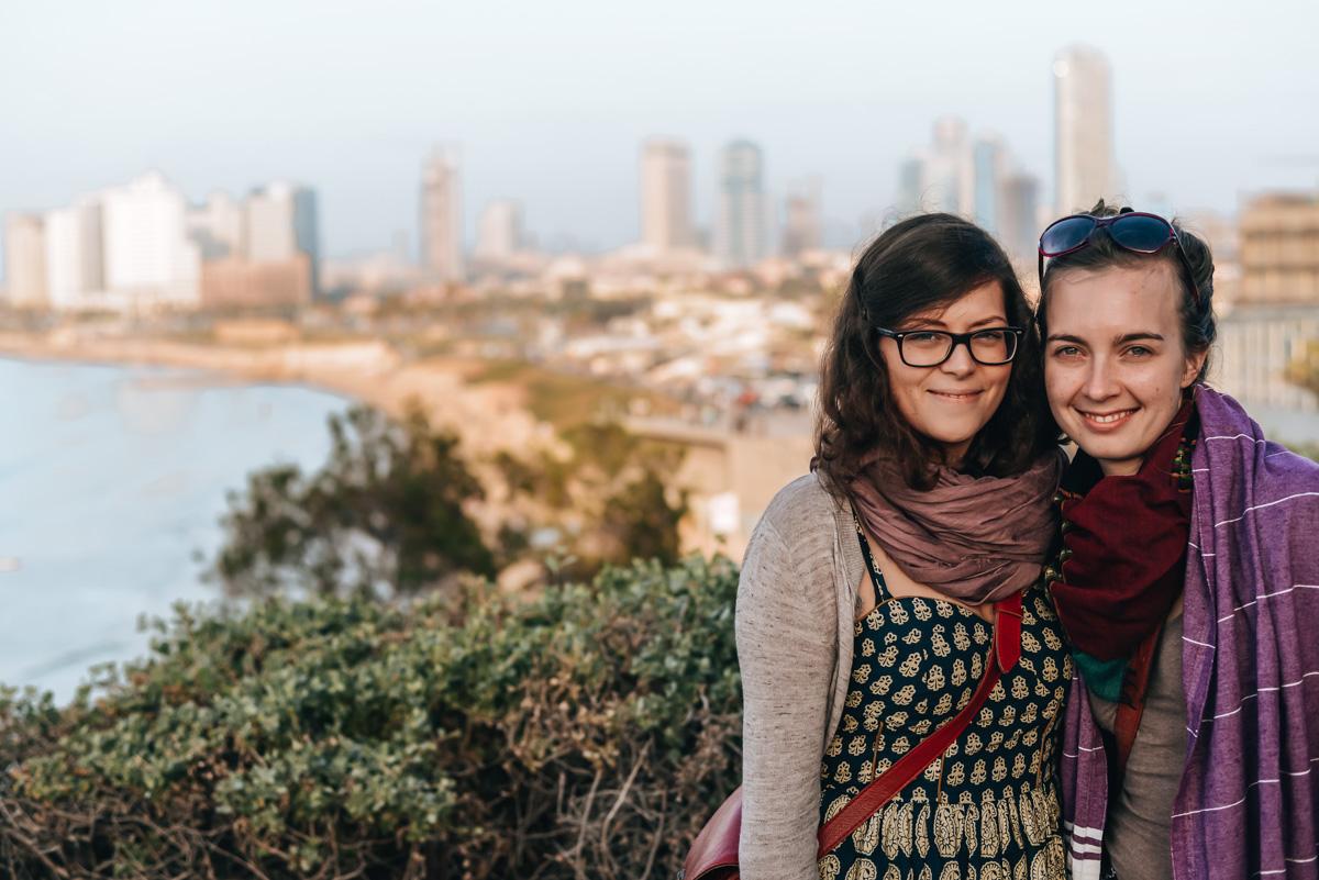Tel Aviv Ausblick Strand