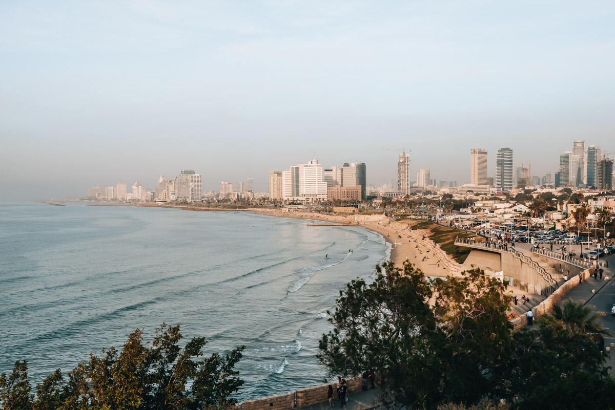Tel Aviv Ausblick