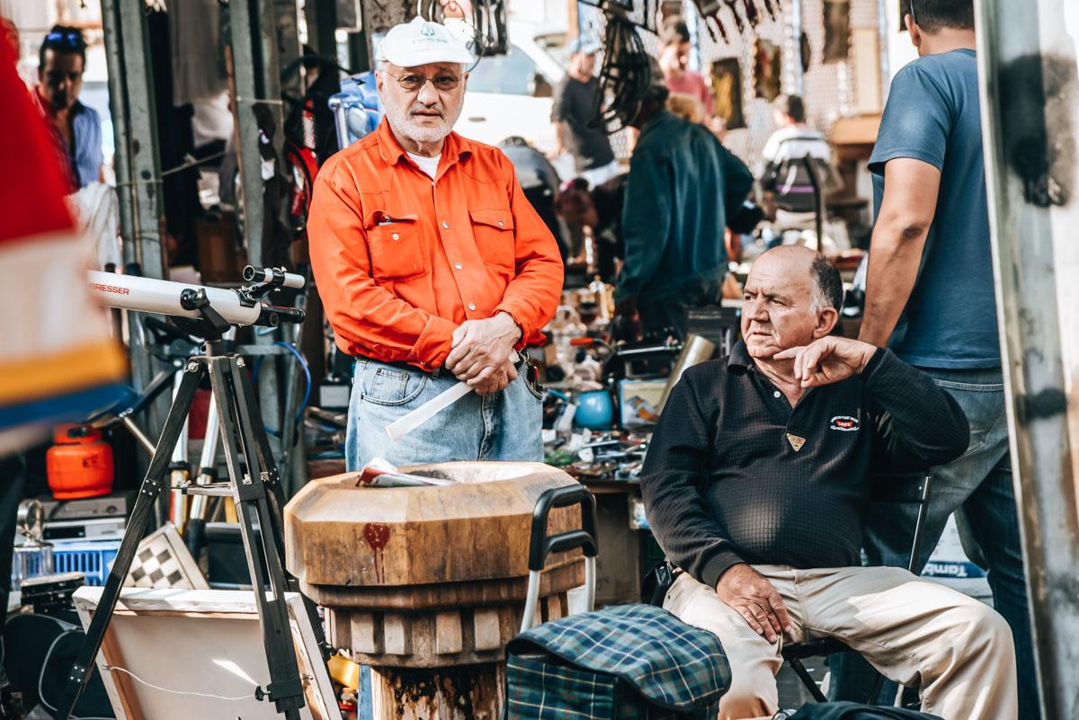 Tel Aviv Jaffa Flohmarkt