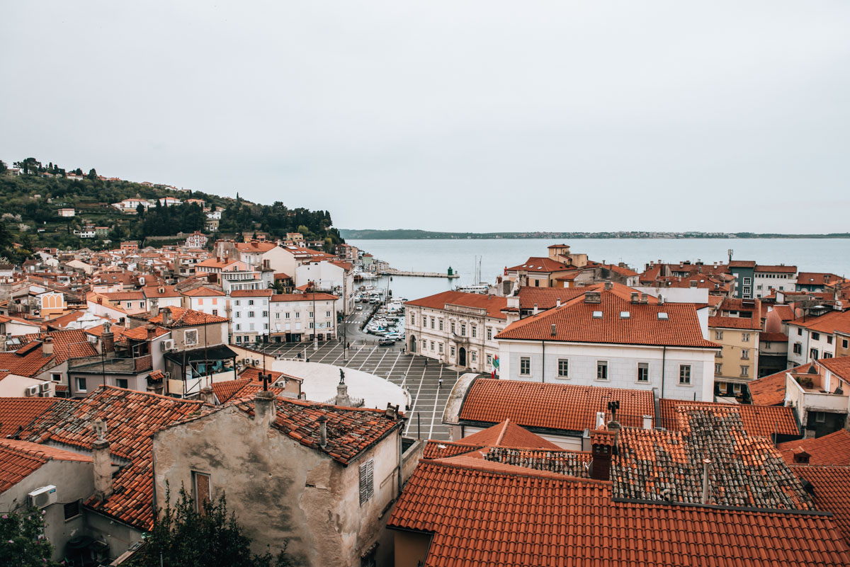 Piran Cathedral View