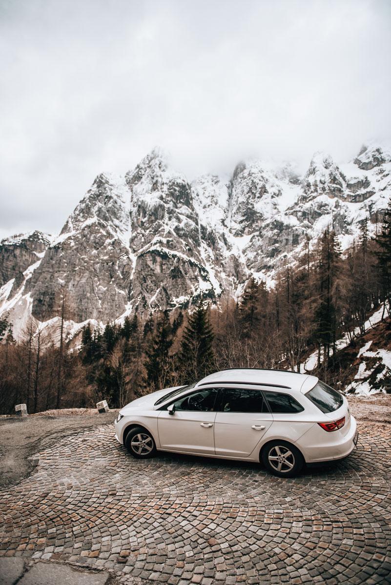 Vrsic Pass Winter
