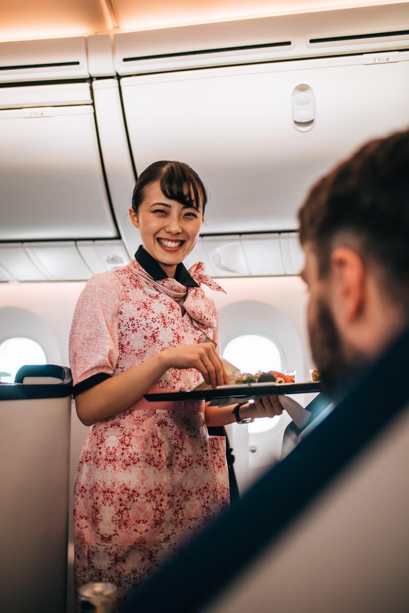 ANA Flugblegleiterinnen