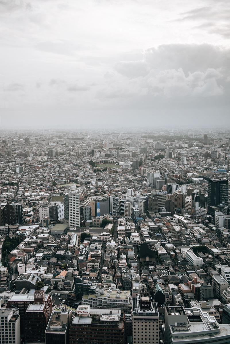 Aussichtspunkte Tokio