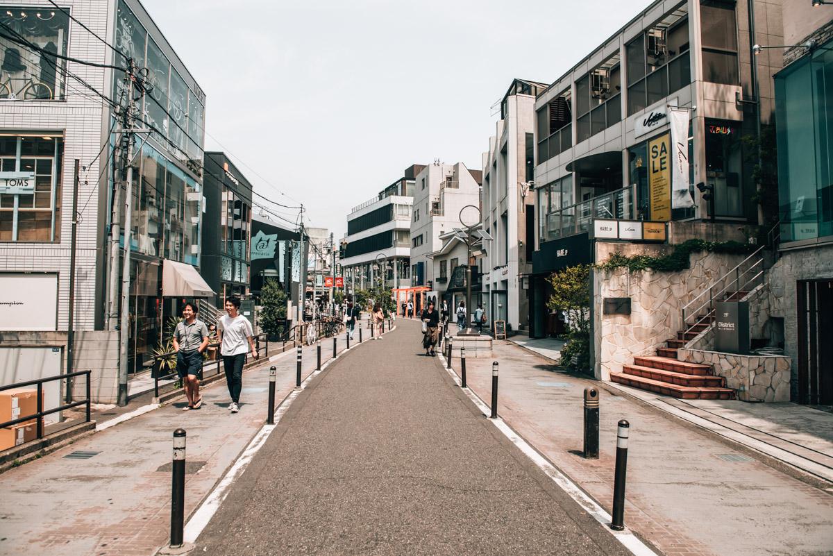 Cat Street Tokio