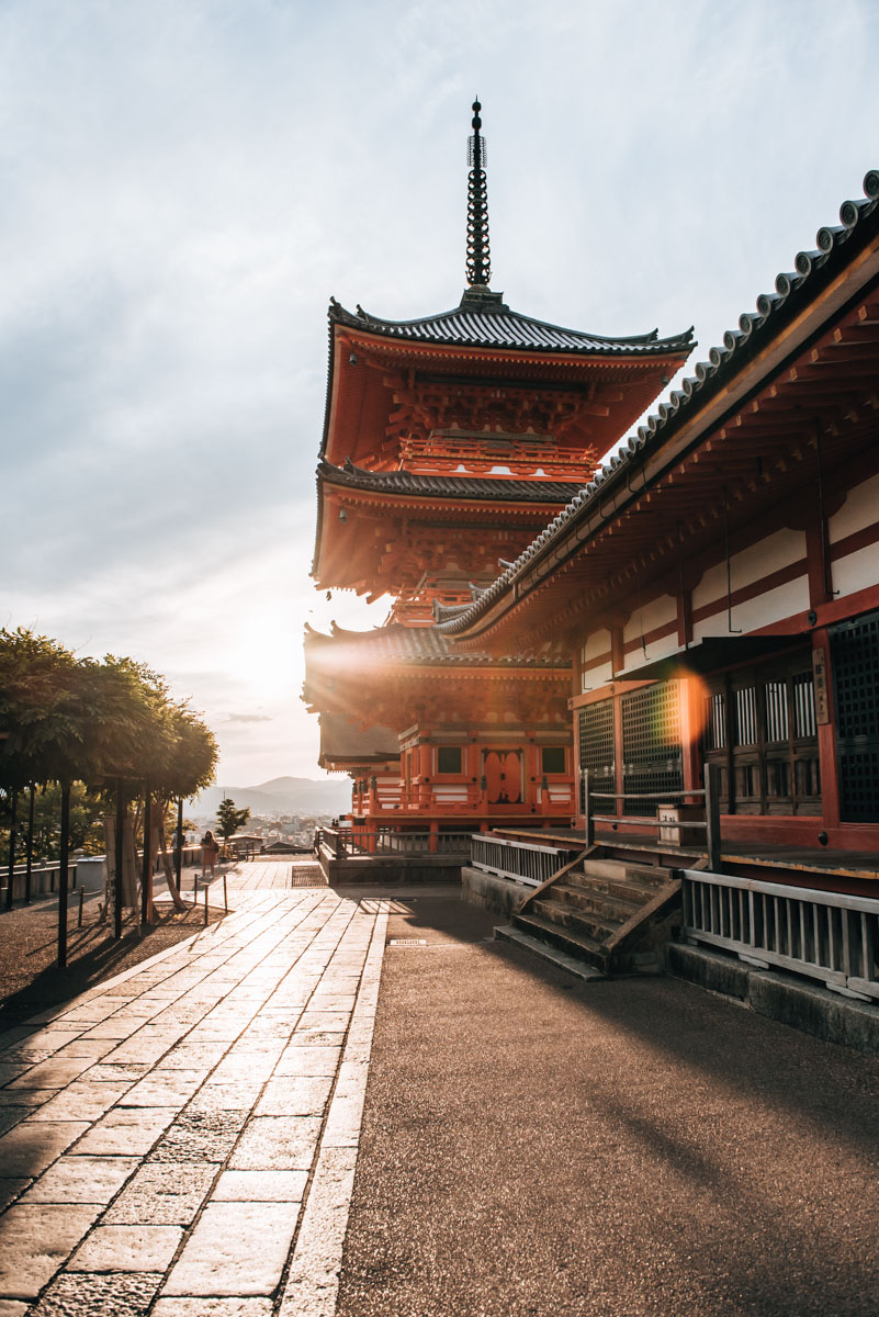 Kyoto Reiseroute