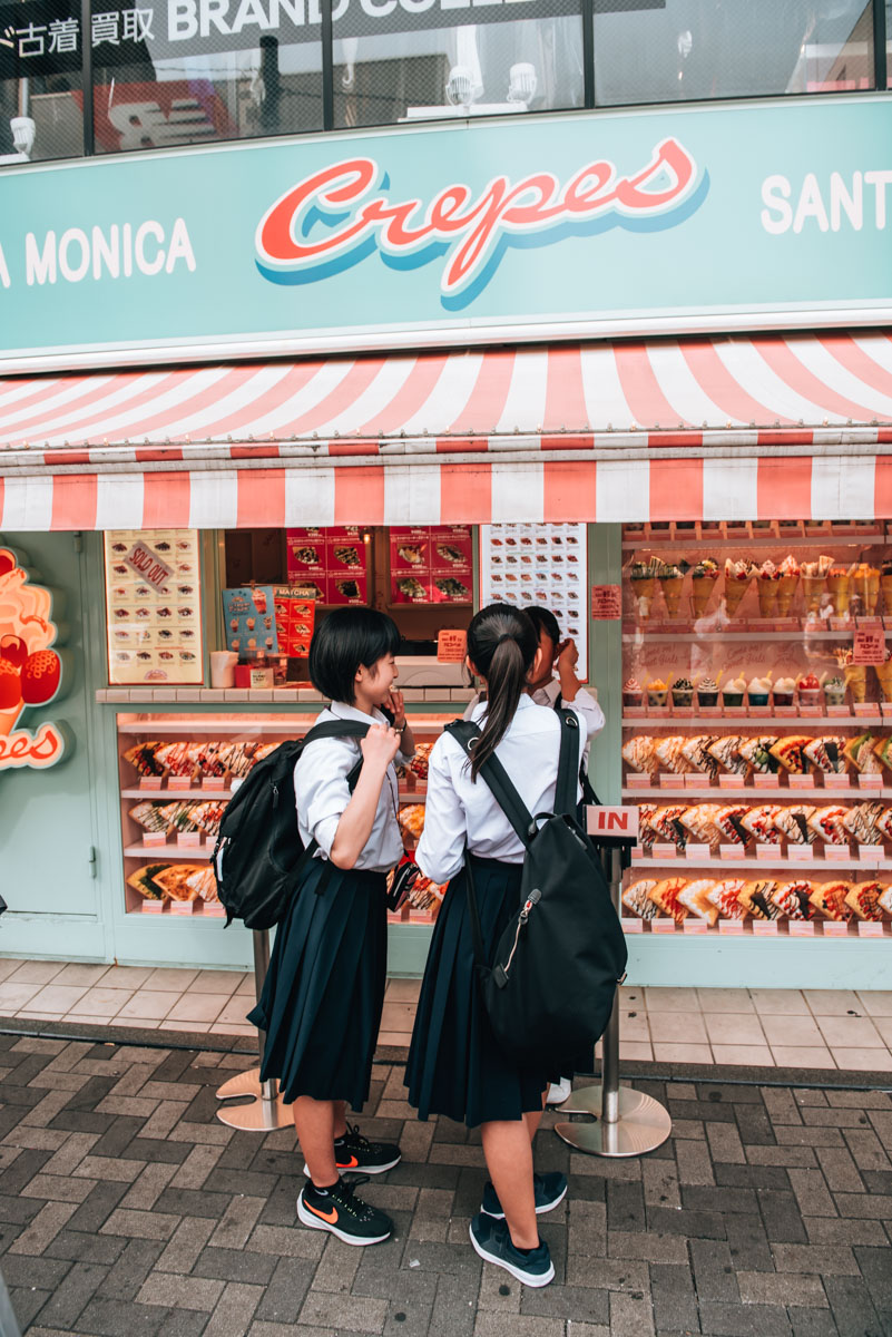 Takeshita dori Tokio