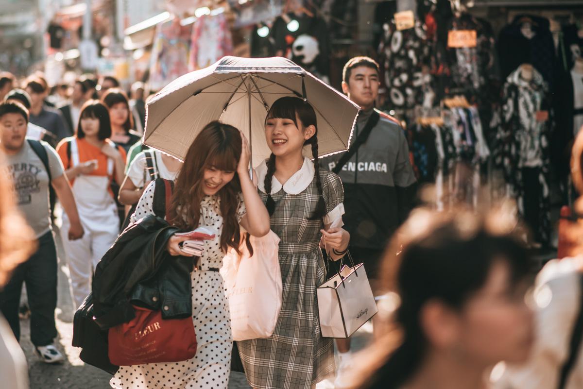 Takeshita dori Tokio Tipps