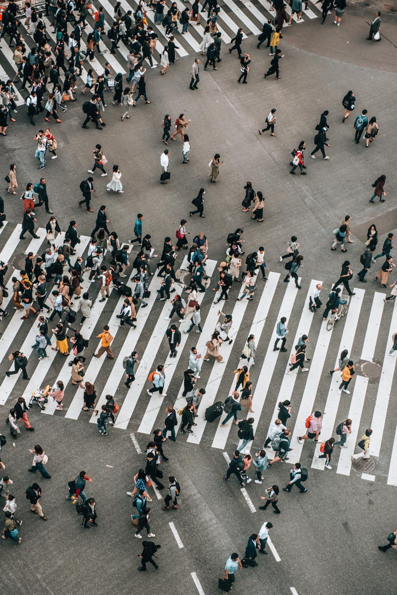 Tokio Shibuya Crossing