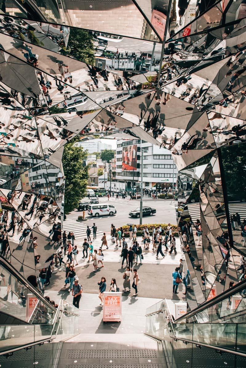 Tokyo Plaza Spiegel