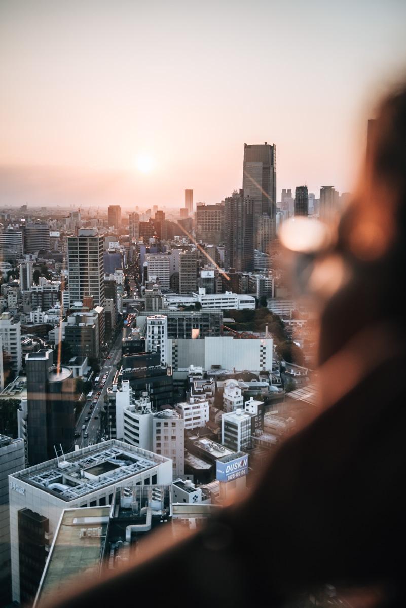 Tokyo Tower Aussicht