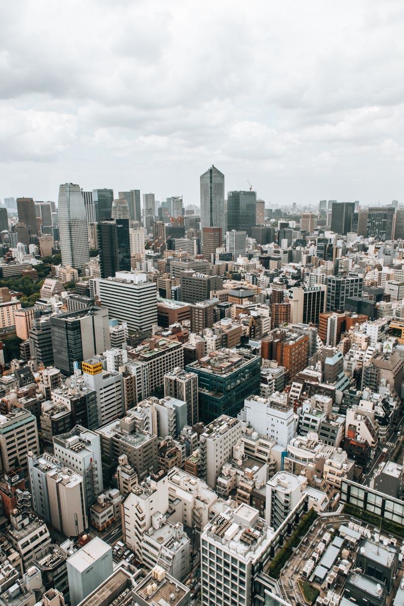 World-Trade Center Tokio Aussicht