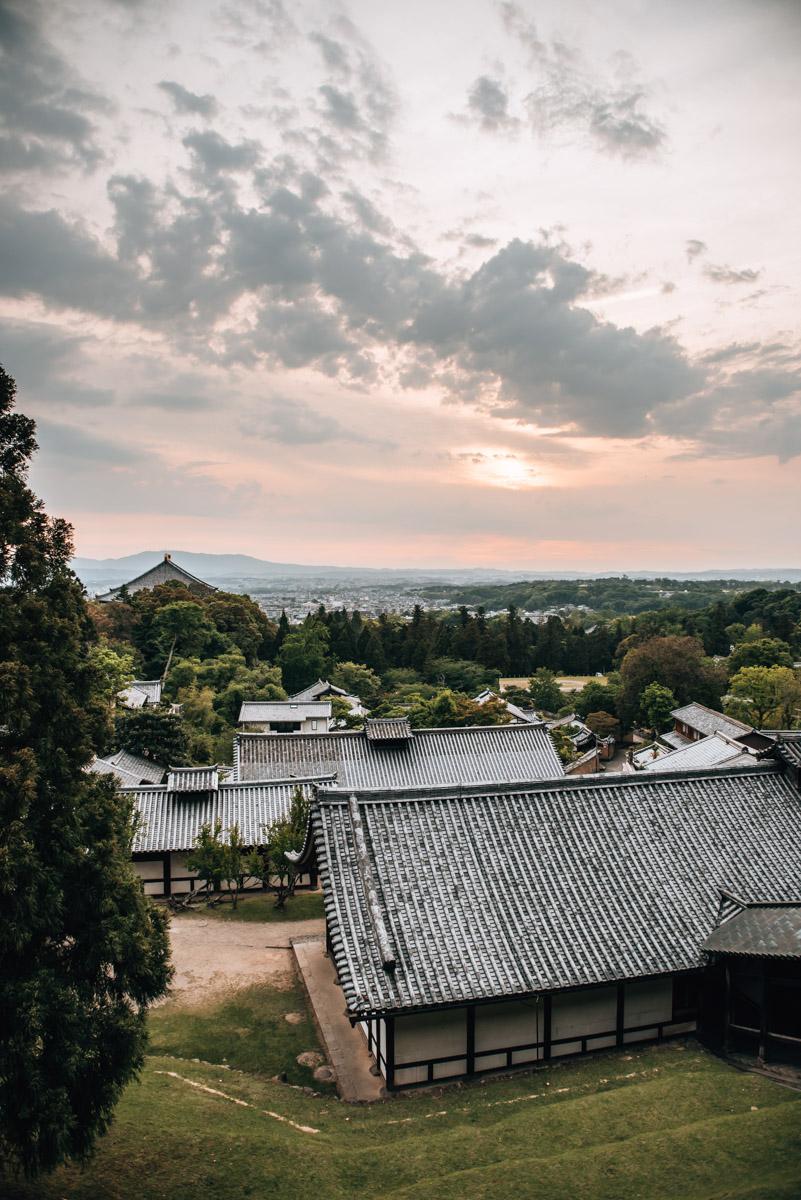 Nara Sunset Temple