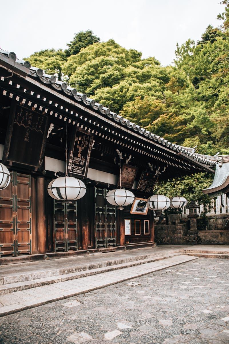 Nigatsu dō Temple Nara