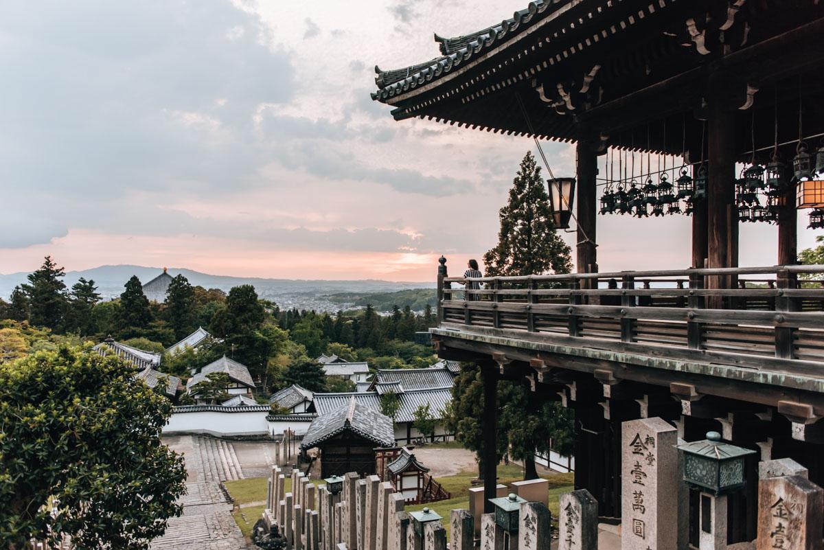 Nigatsu dō Tempel