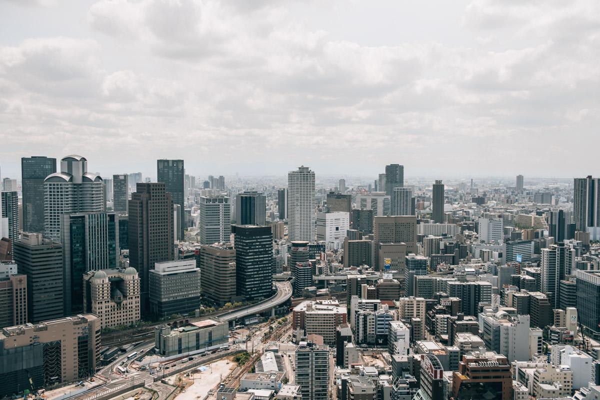 Osaka Aussichtspunkt Tipps