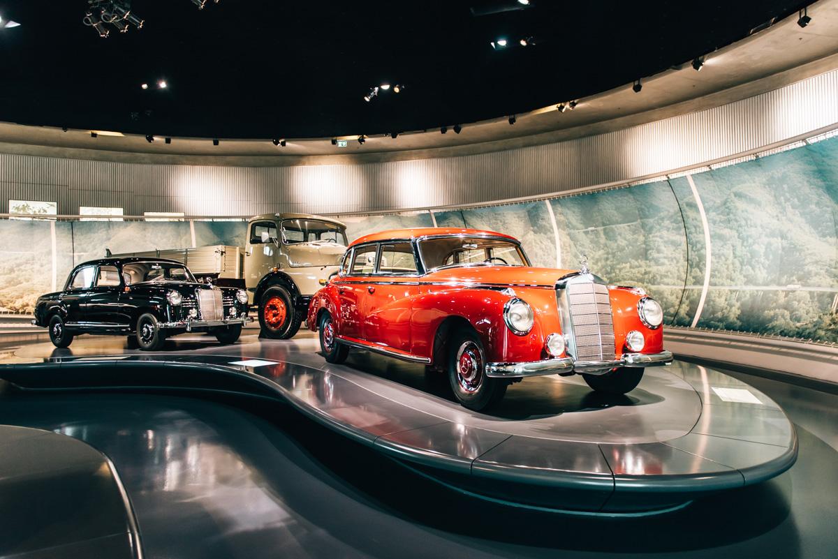 Stuttgart Mercedes Benz Museum
