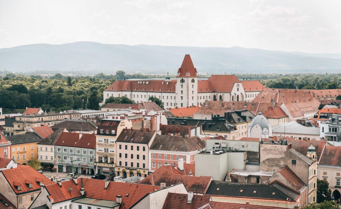 Ausblick Wiener Neustadt