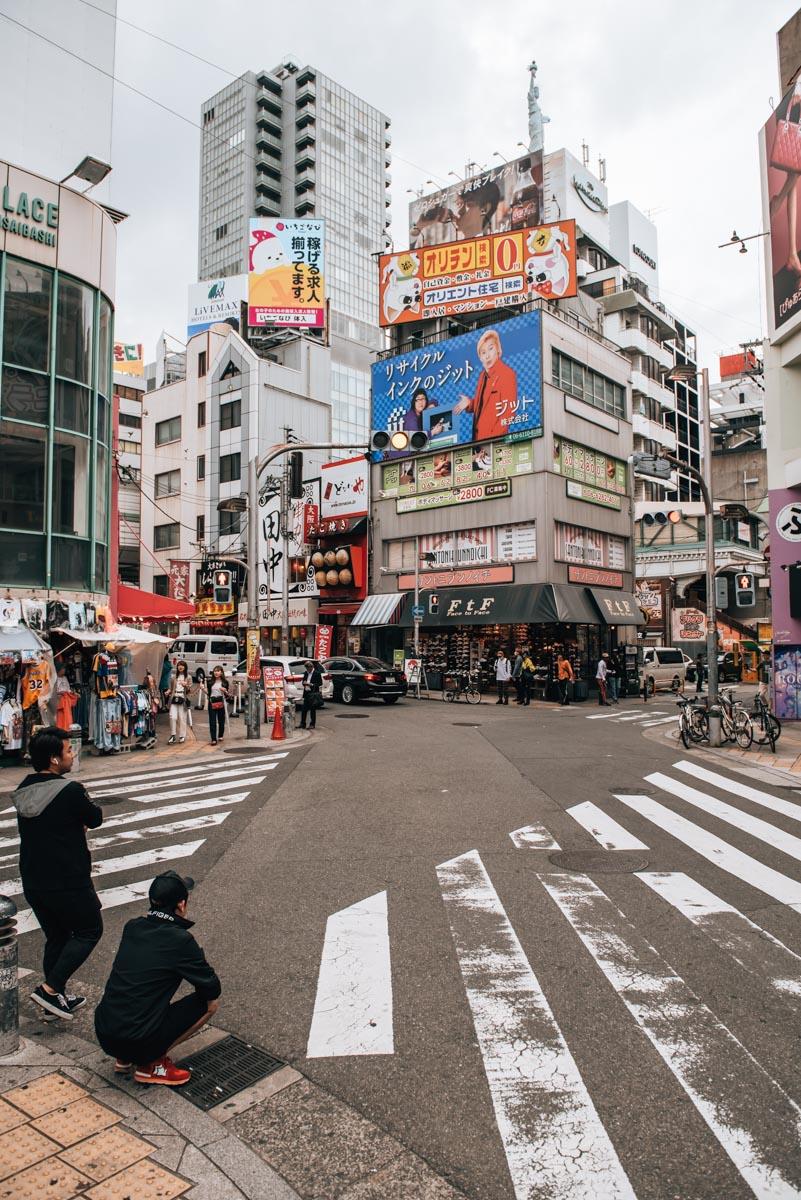 Freiheitsstatue Osaka