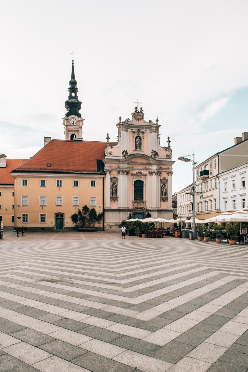 Rathausplatz St. Pölten