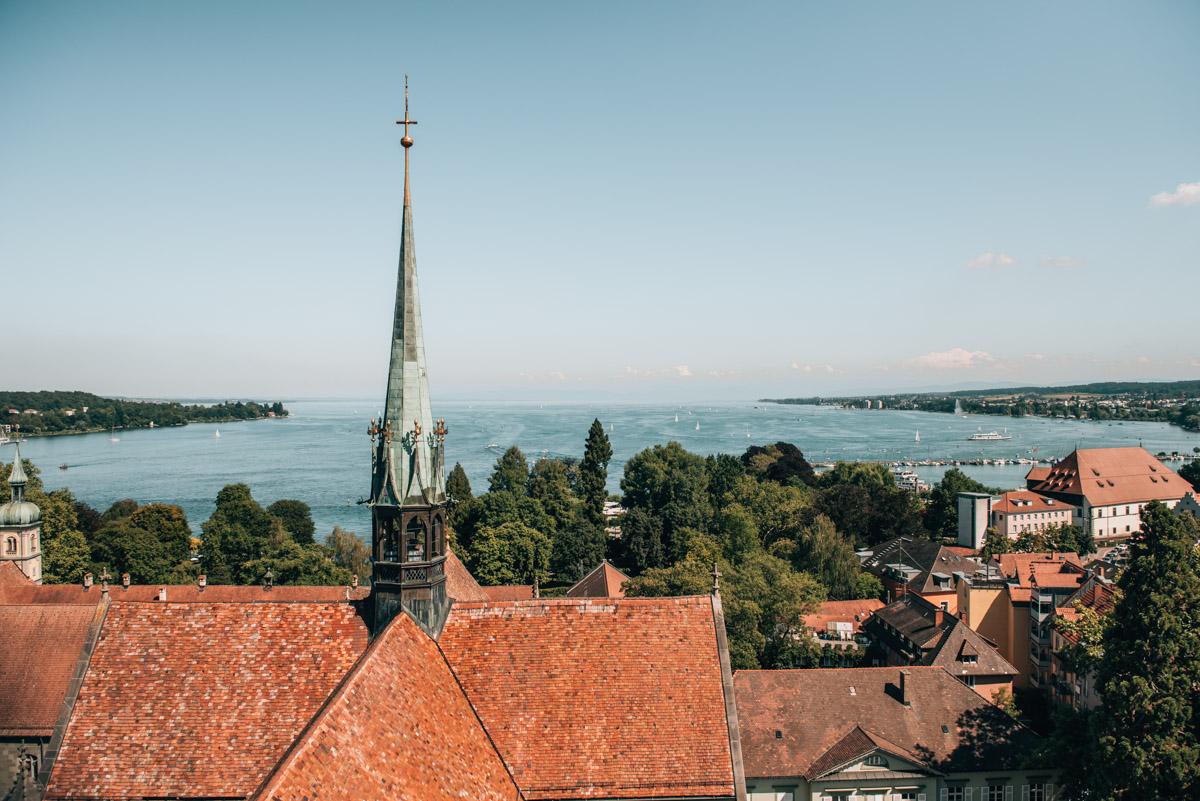Ausblick Münster Konstanz