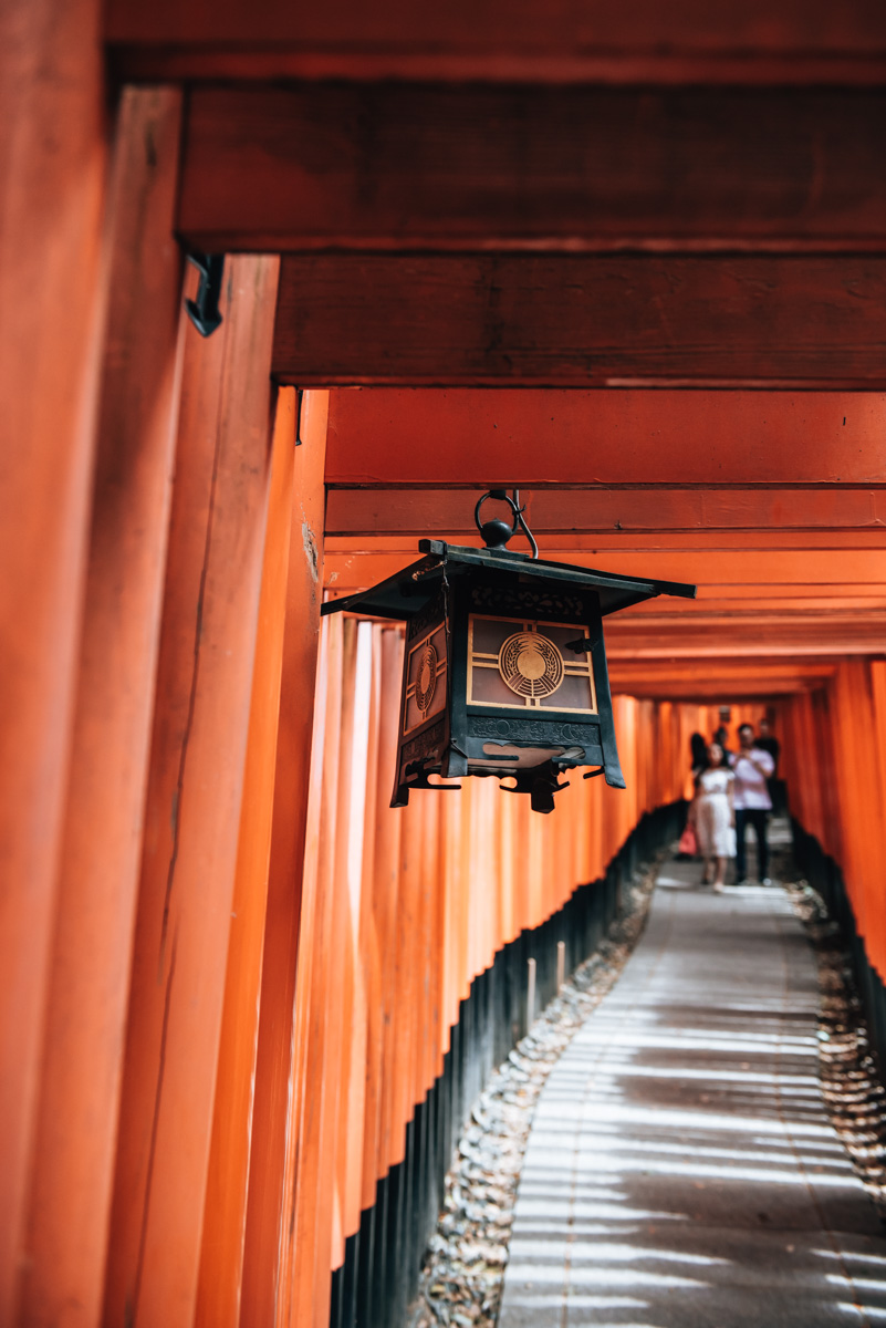 Fushimi Inari Taisha without Tourists