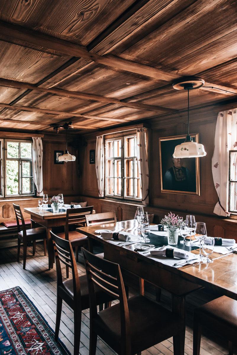 Hirschen Schwarzenberg Restaurant