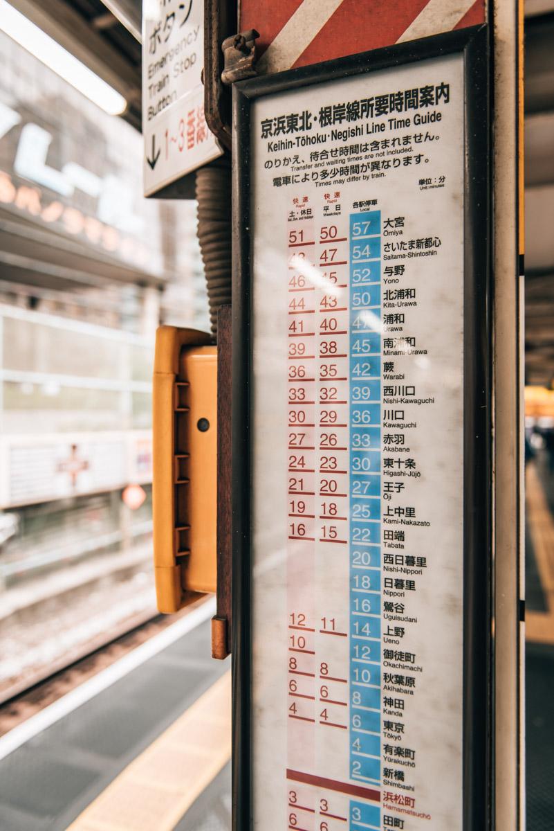 Tokio U Bahn Erfahrungen